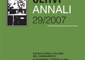 """""""Annali"""" dell'Istituto """"Alcide Cervi"""" 29/2007, Istituto Alcide Cervi – Reggio Emilia"""