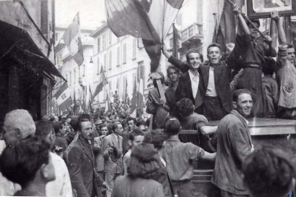 Il 25 luglio 1943 a Reggio Emilia: manifestazione popolare