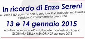 In ricordo di Enzo Sereni > 13 e 14 gennaio 2015