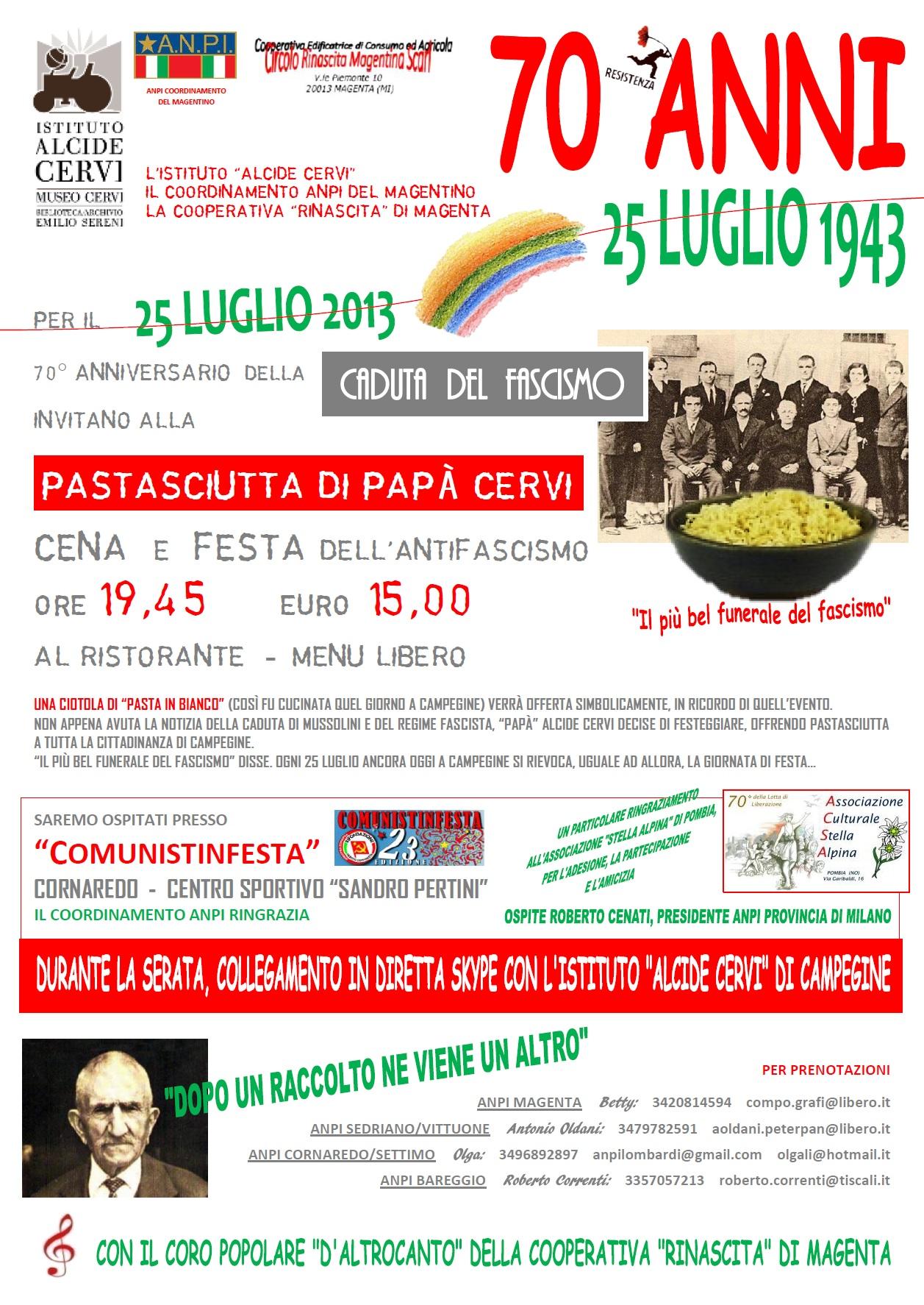 programma 25 LUGLIO 2013