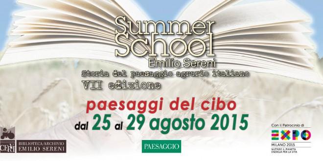 Summer School Emilio Sereni > dal 25 al 29 agosto 2015