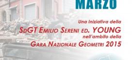 Sgdt Emilio Sereni – Terremoto e ricostruzione > 26 marzo 2015