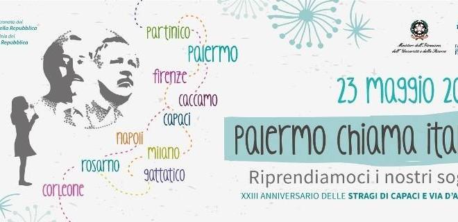 PALERMO CHIAMA ITALIA, CASA CERVI RISPONDE > Sabato 23 maggio