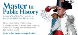 Master in Public History (PH) – Prima Edizione > ottobre 2015 – luglio 2016