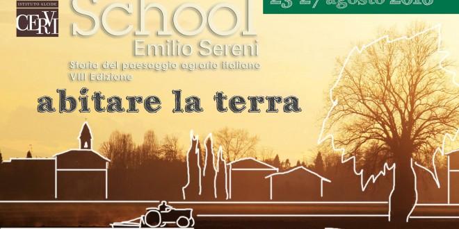 Summer School Emilio Sereni > 23-27 agosto 2016