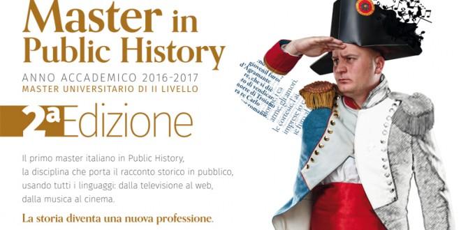Master in Public History (PH) > novembre 2016 – luglio 2017