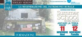 Estensione SUMMER SCHOOL SERENI > 11 e 12 novembre 2016