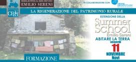 Estensione SUMMER SCHOOL SERENI > 11 novembre 2016
