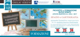 Formazione docenti – PAESAGGIO e paesaggi a scuola > 16, 23 e 24 novembre