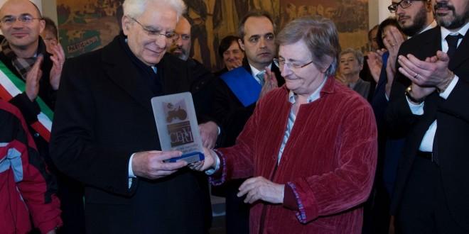 Il Presidente Sergio Mattarella a Casa Cervi > 7 gennaio 2017