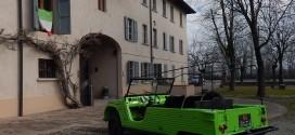 L'auto di Siani fa tappa a Casa Cervi > 22 gennaio 2017