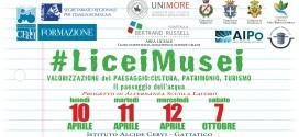 Progetto #liceimusei > 10-11-12 aprile e 7 ottobre 2017